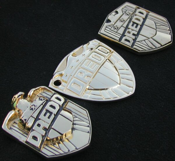 Judge Dredd badges